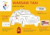 How to identify a certified Taxi in Warsaw.